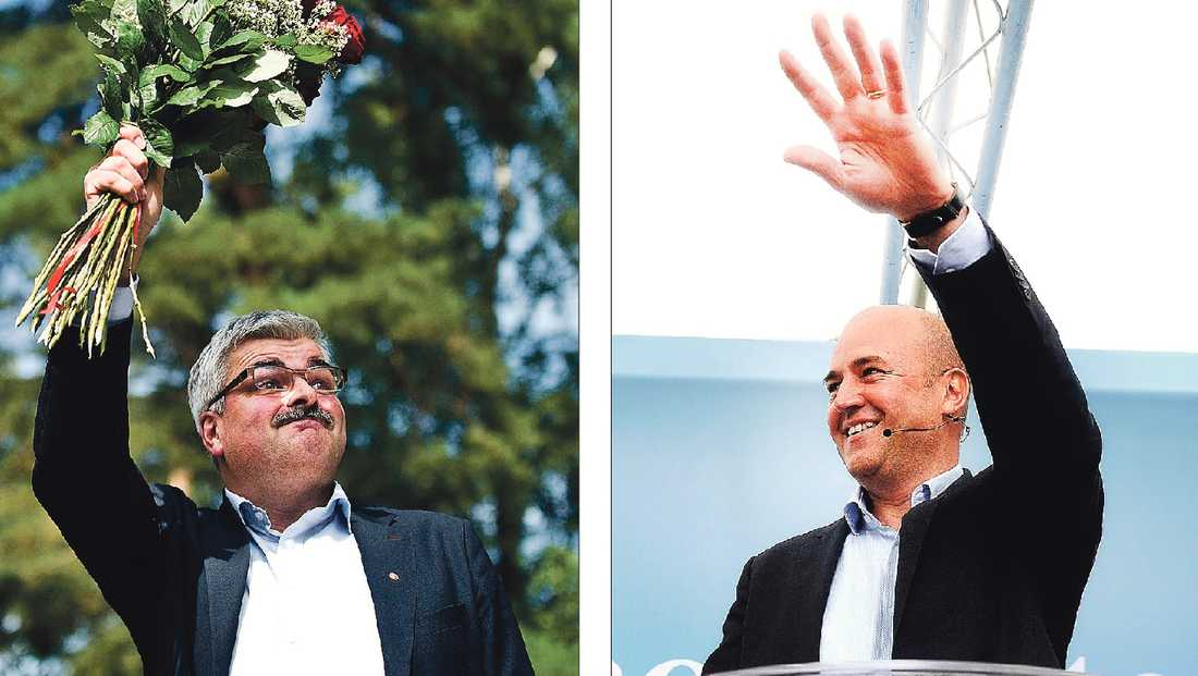TAL UTAN TYNGD I helgen höll Håkan Juholt och Fredrik Reinfeldt sommartal i varsin Stockholmsförort. Ingen av partiledarna lyckades formulera bra politik.