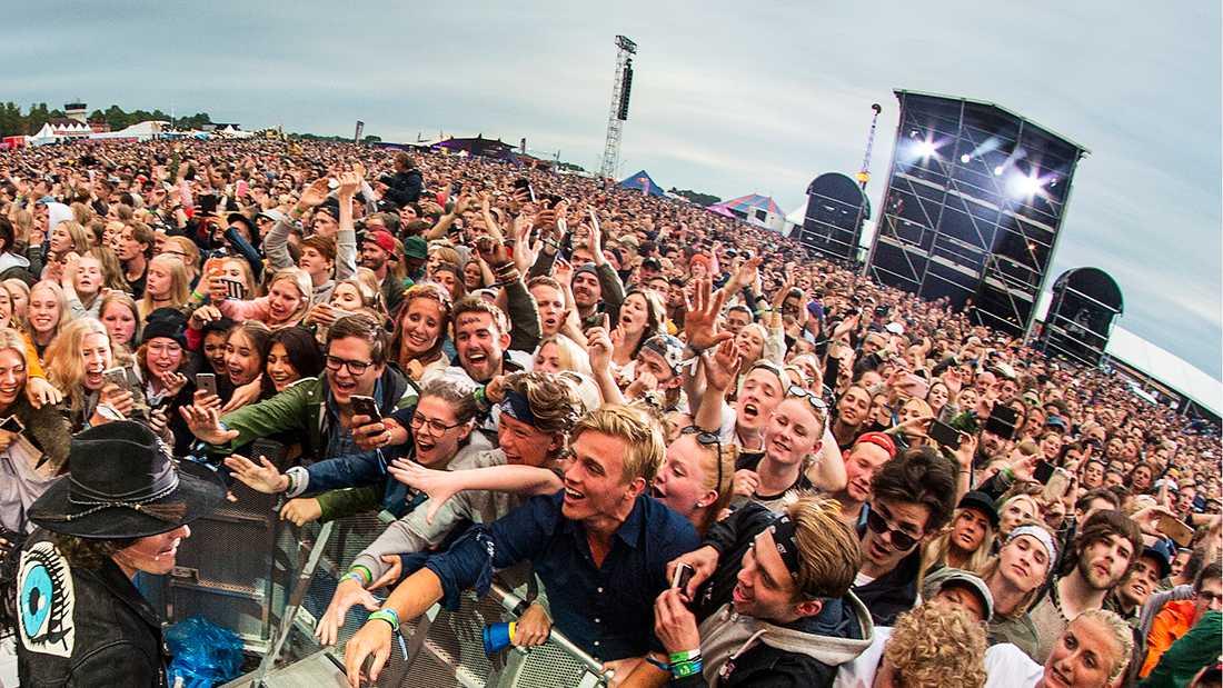45162 biljetter såldes till årets Bråvalla.