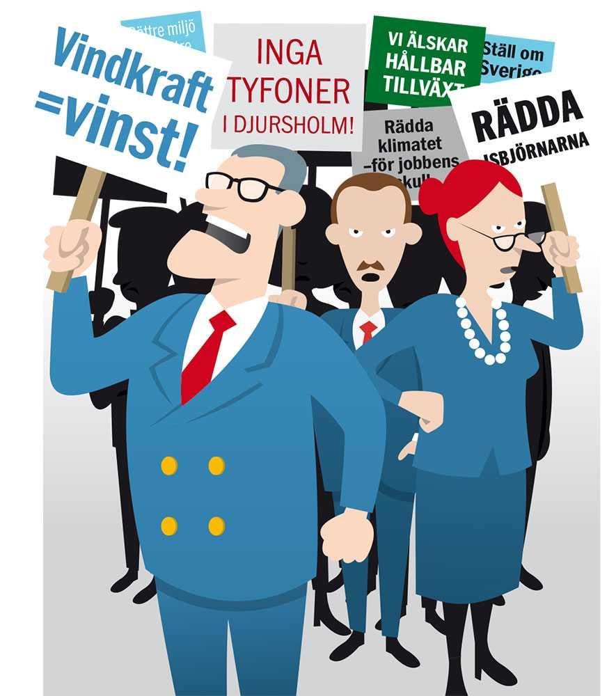 Någon måste tvinga makthavarna att arbeta för klimatet. Tänk om 30 ledande svenska näringslivsföreträdare tillsammans krävde att Löfven och Reinfeldt anammade tre åtgärder.