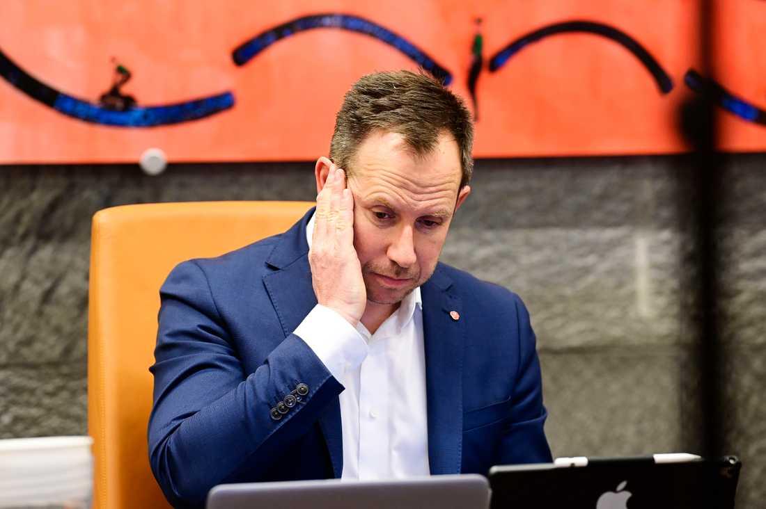 Henrik Tvarnö (S), kommunstyrelsens ordförande i Vetlanda