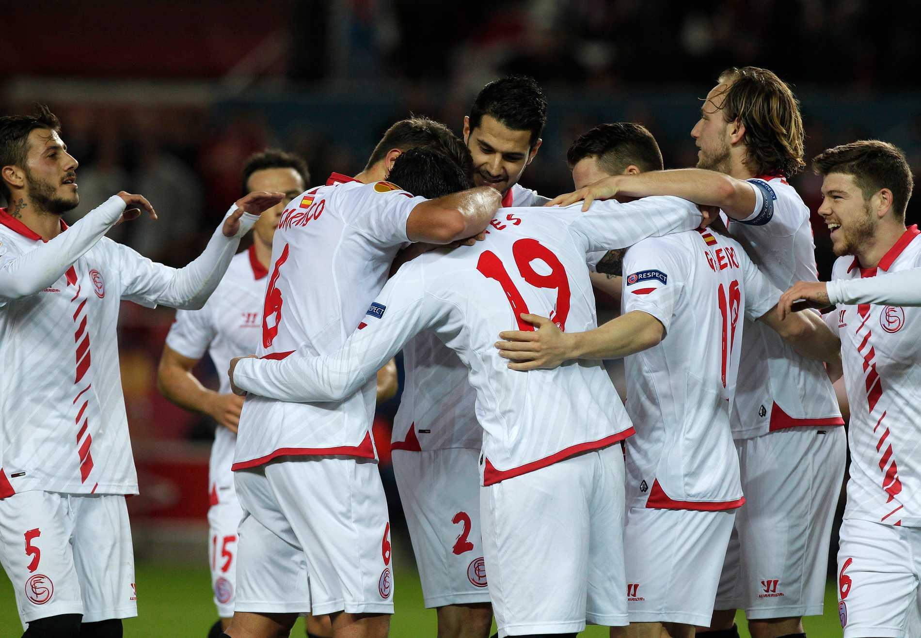 Sevilla tar sig an Valencia i semifinalen i Europa League.