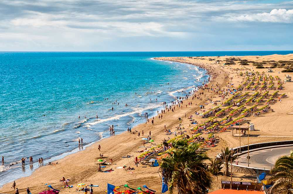 Till Gran Canaria gfinns det fortfarande charterbiljetter kvar i påsk.