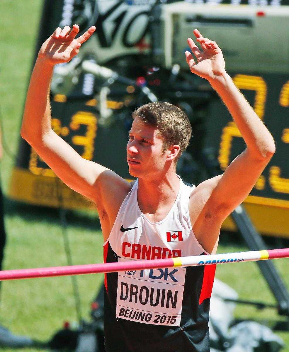 Derek Drouin.