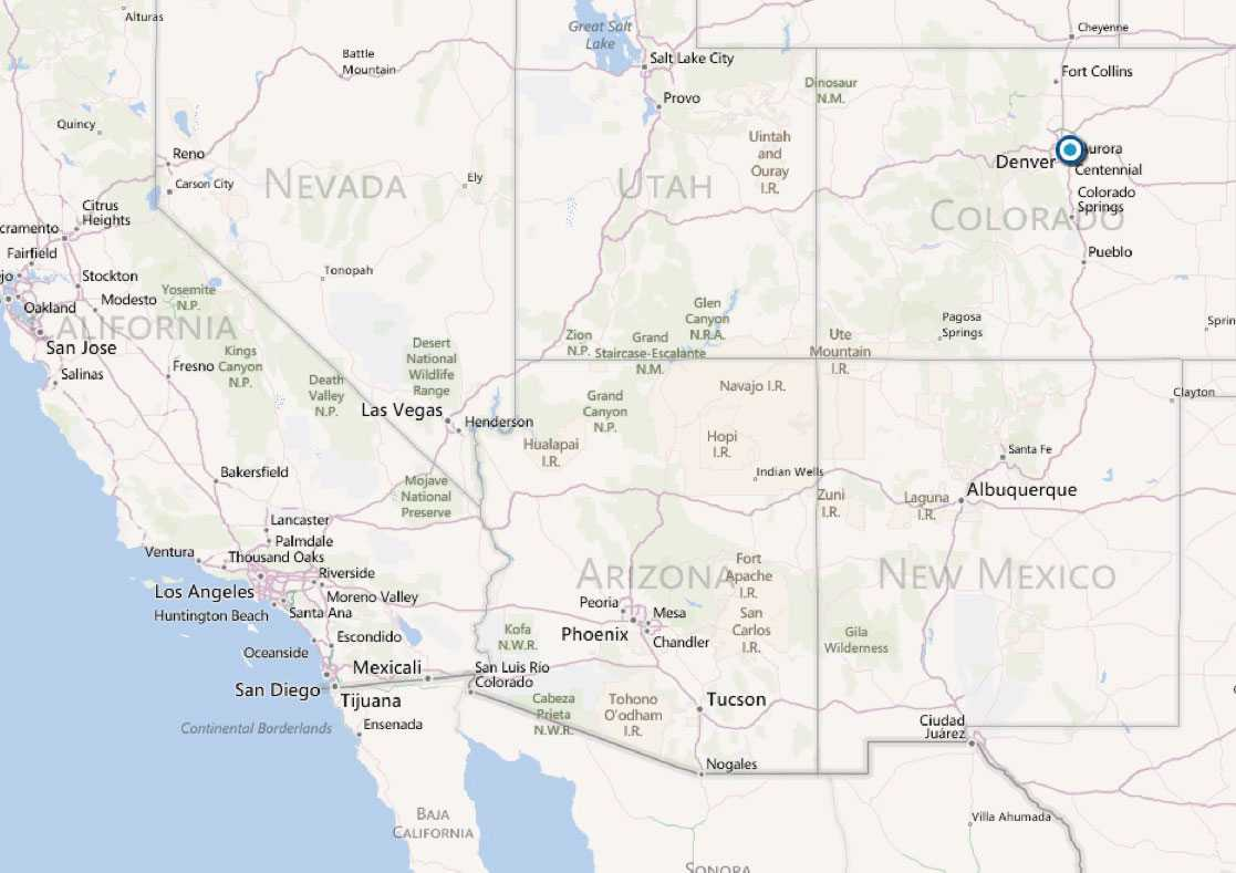 Dådet inträffade i Aurora, utanför Denver i Colorado.