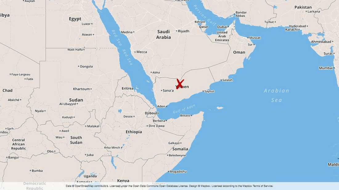 Sju drönarattacker har genomförts mot saudiska mål i Jemen.