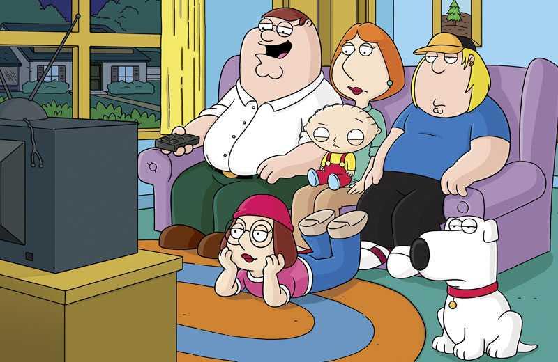 """""""Family guy"""" är på väg att bli biofilm, avslöjar skaparen Seth McFarlane."""