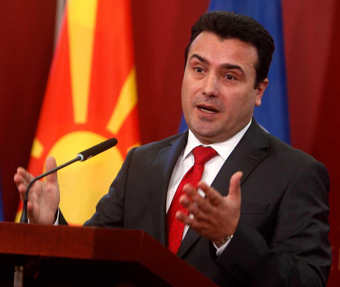 Makedoniens premiärminister Zoran Zaev.