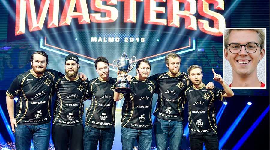 En av de största fördomarna om e-sport är att det är stillasittande. Detta är delvis en myt, skriver Max Horttanainen. Bilden är på det svenska laget NiP som firar segern i Dreamhack Masters i Malmö i mars förra året.