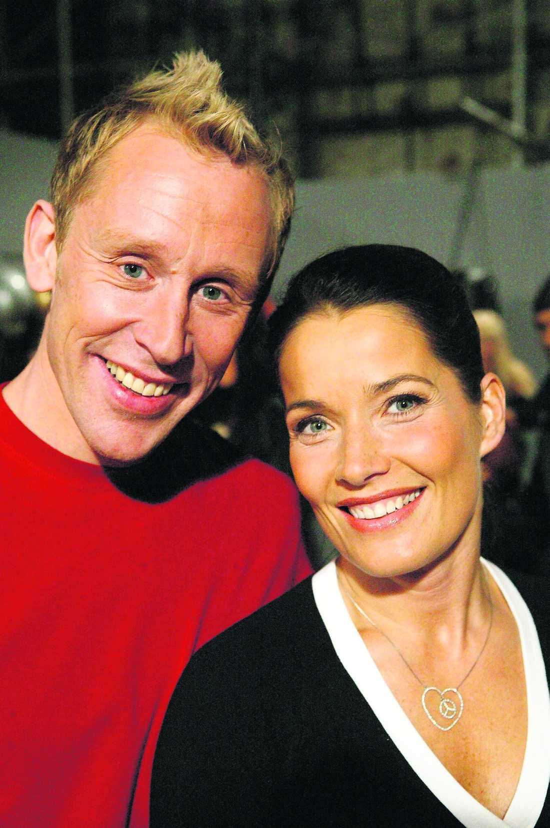 """LADDADE FÖR COMEBACK Gunde Svan och Agneta Sjödin är klara för att leda en ny omgång av """"Fångarna på fortet"""". Senast de jobbade ihop med det populära programmet var på 90-talet. """"Vi trivs bra ihop"""", säger Gunde."""