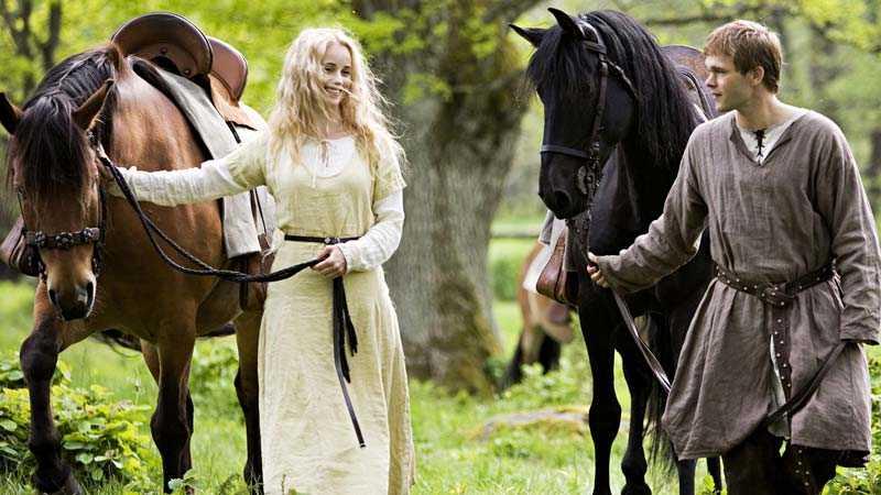 Kände tempelriddaren Arn, med sin Cecilia.