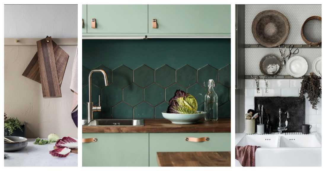 Fixa ny stil i köket med enkla knep.