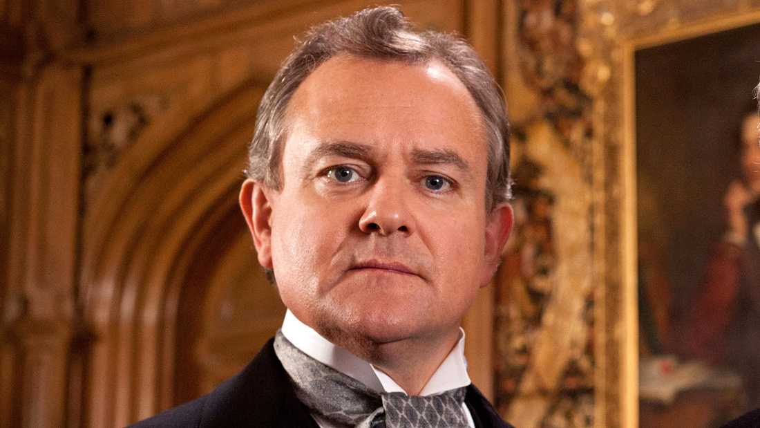 "Hugh Bonneville som greve Robert Crawley i ""Downton Abbey""."