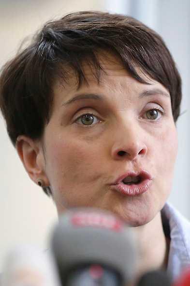 Frauke Petry tog över ledarskapet. Foto: AP