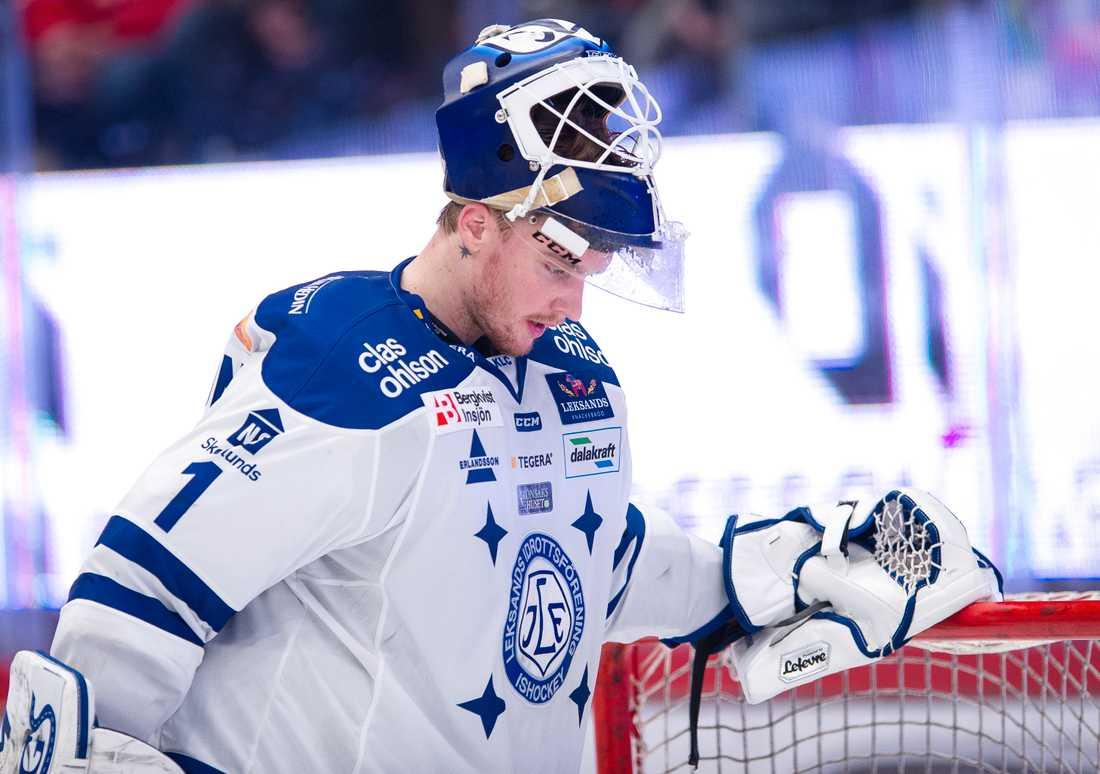 Tex Williamsson, lånades ut från Malmö till Leksand hela säsongen.