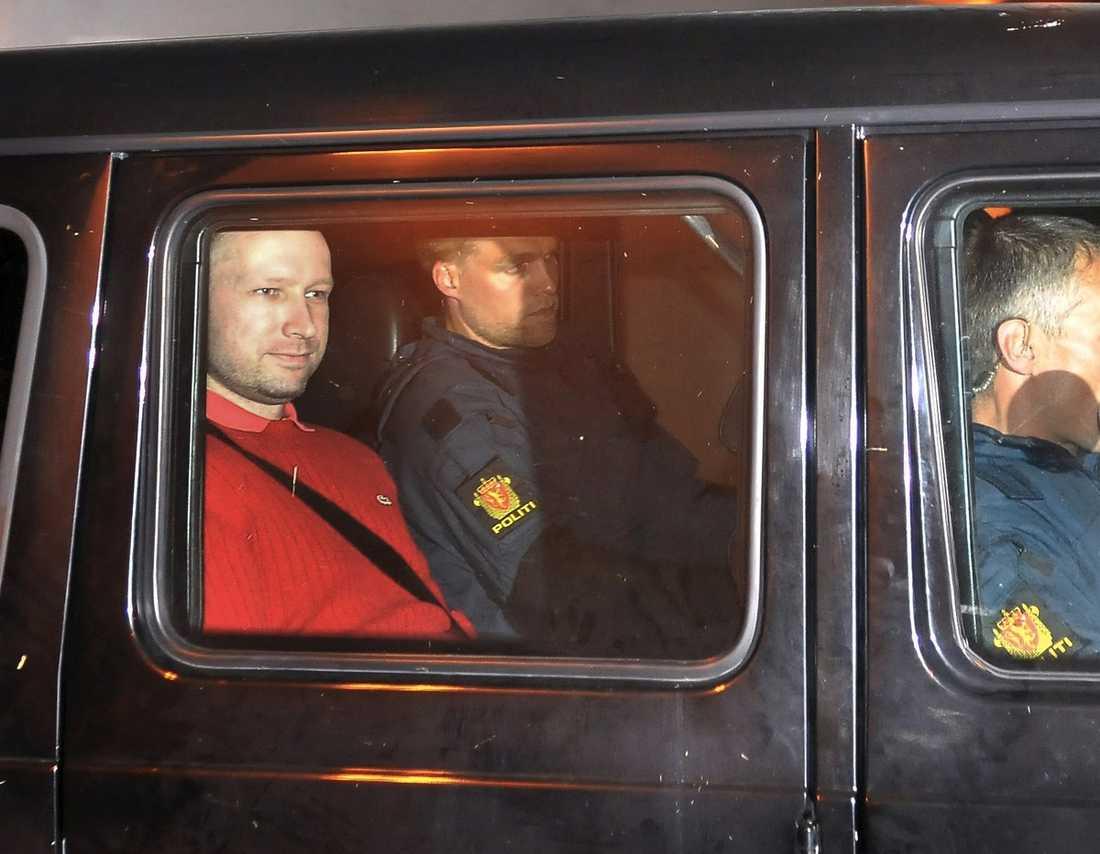 Den misstänkte Anders Behring Breivik.