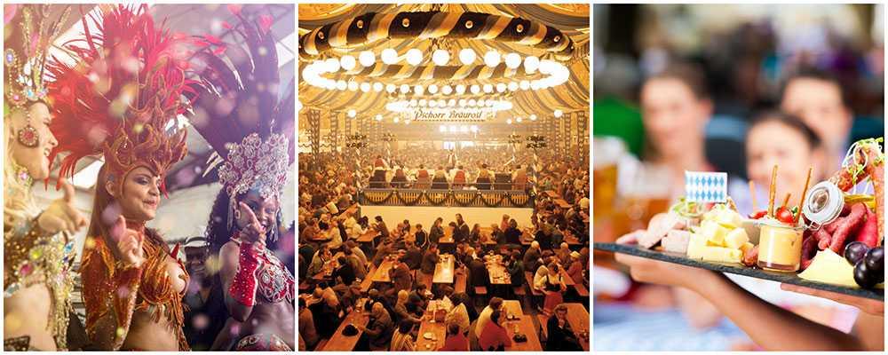 Rio, München eller New Orleans - världens är full av härliga festivaler.