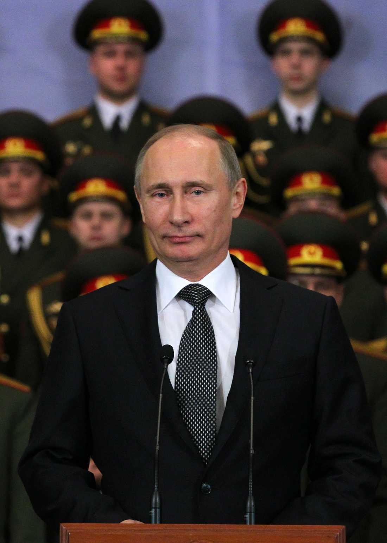 Stevens ryska kompis När Steven tar en tur österut umgås han gärna med sin kompis Vladimir Vladimirovitj Putin