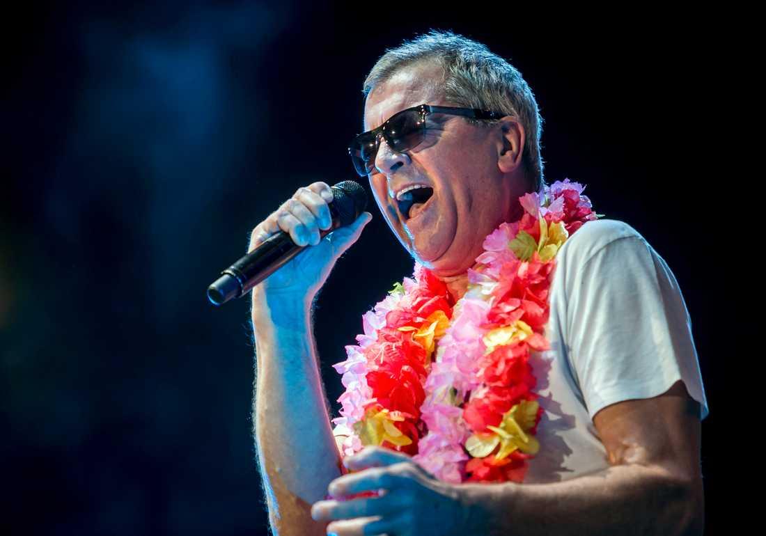 """""""Vi har aldrig låtit så bra som nu"""", säger Ian Gillan, sångare i det engelska rockbandet Deep Purple som är aktuella med sitt 21:a album """"Whoosh!"""". Arkivbild."""