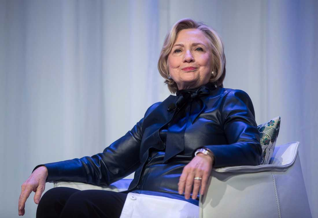 Hillary Clinton. Arkivbild.