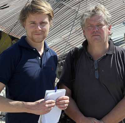 på plats Aftonbladets Staffan Lindberg (text) och Urban Andersson (foto) är på plats i Port-au-Prince, Haiti.
