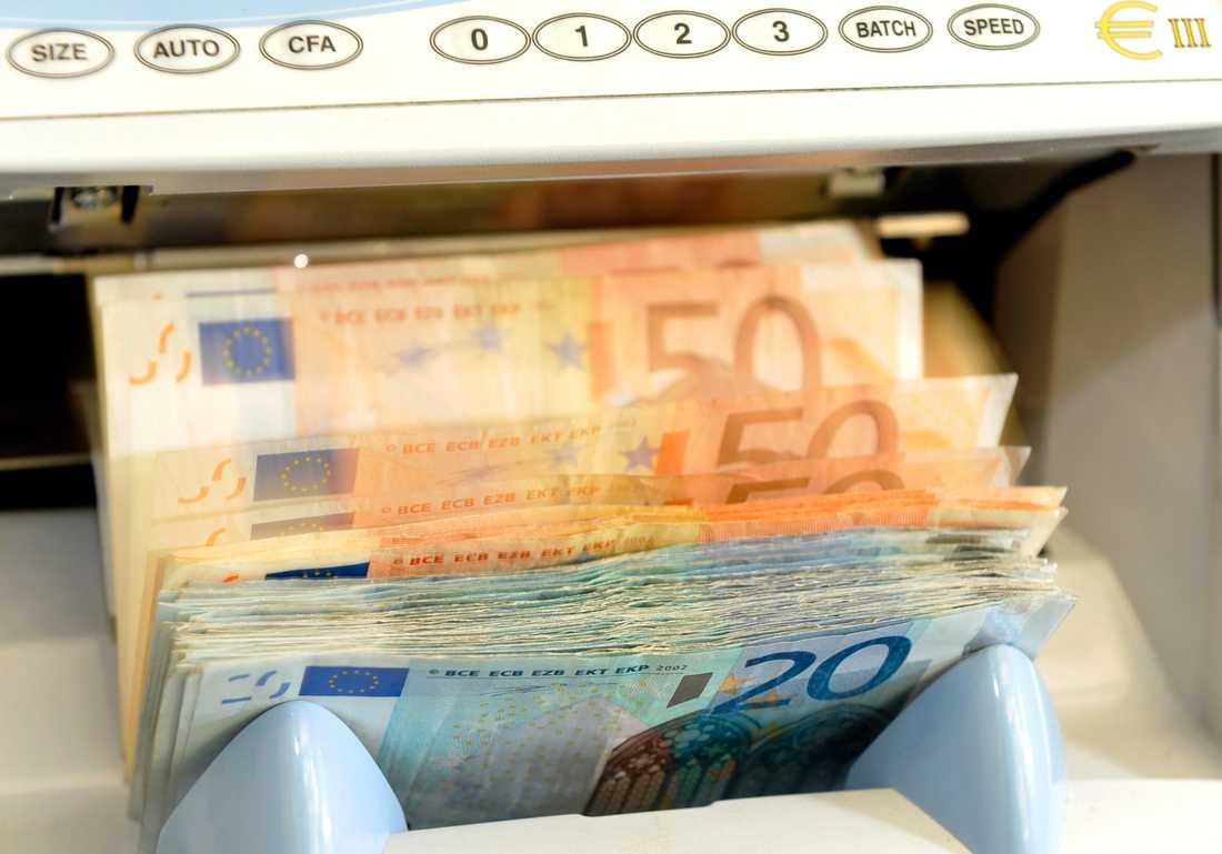 En person i Italien har vunnit en lottovinst på 209 miljoner euro. Arkivbild.