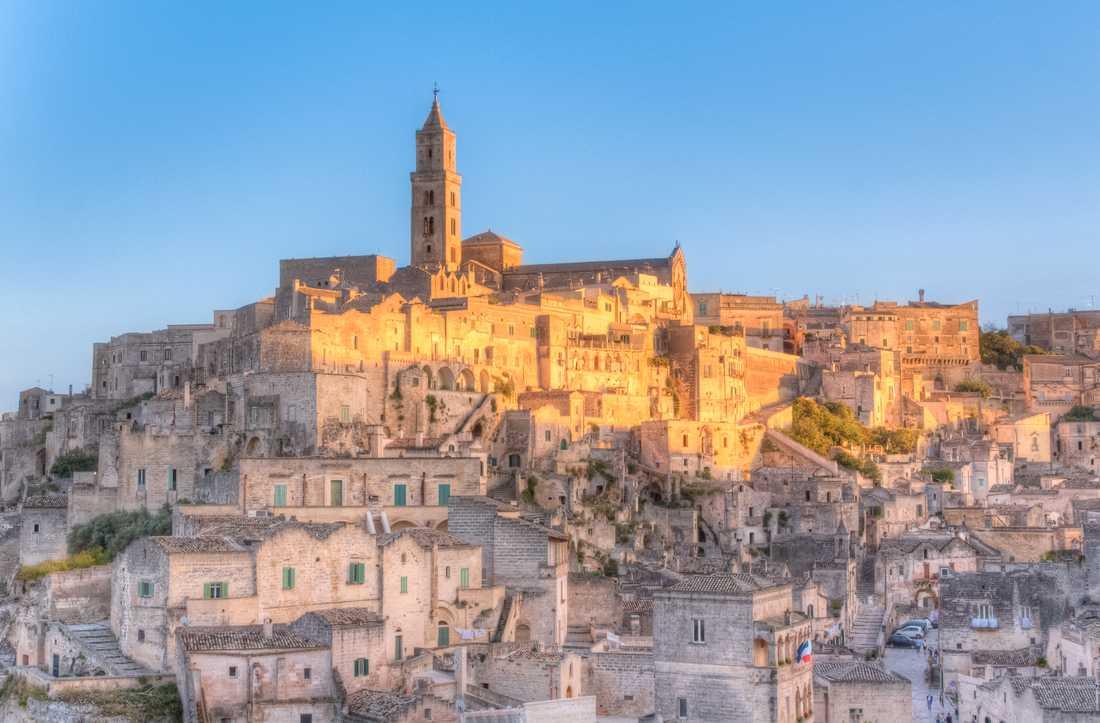 Staden Matera i södra Italien är årets kulturhuvudstad