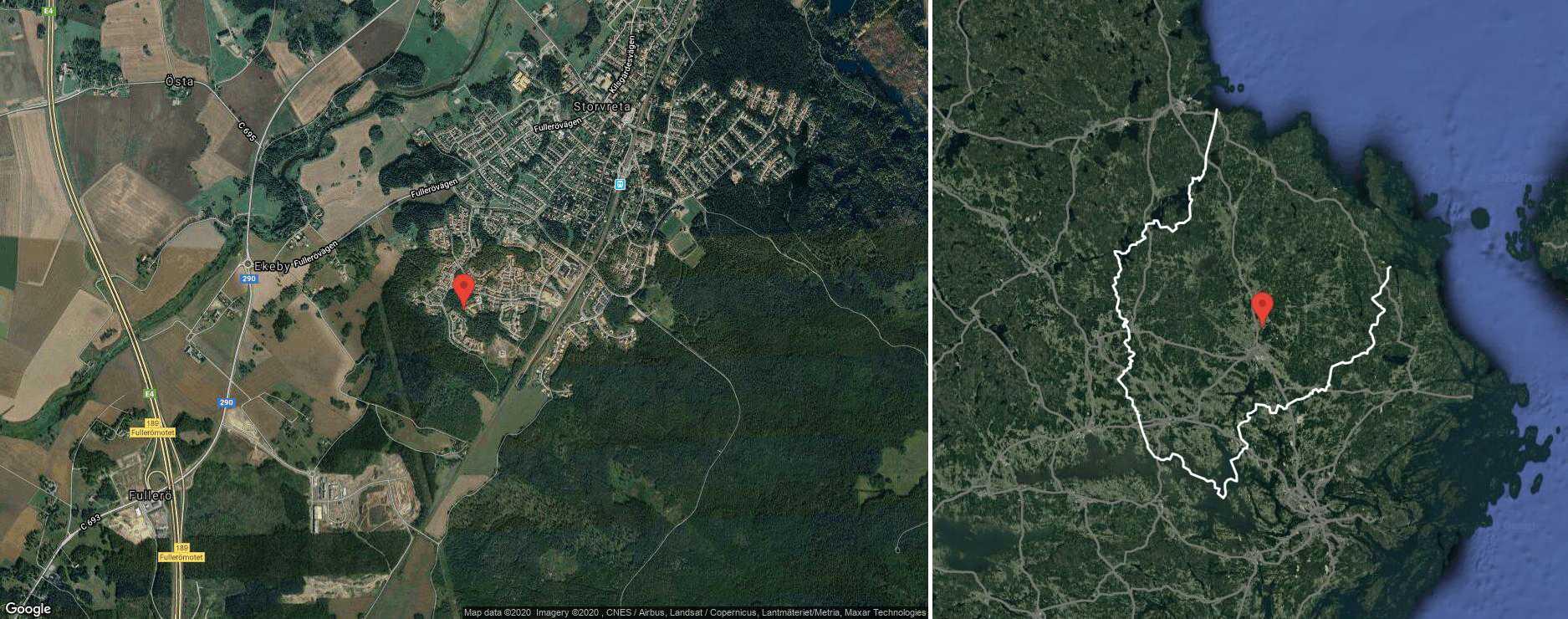 121 kvm stort radhus i Storvreta sålt