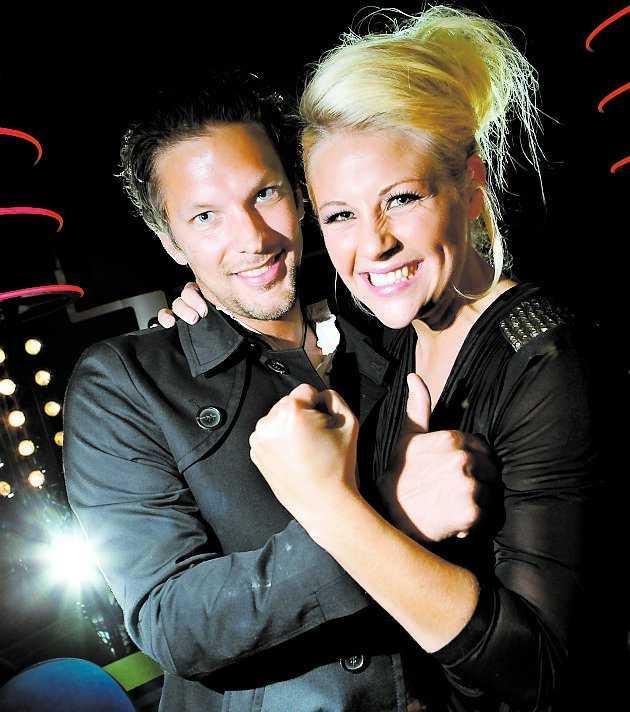 """Det var pojkvännen Johan Frohm som fick Camilla Håkansson att ställa upp i """"Idol""""."""