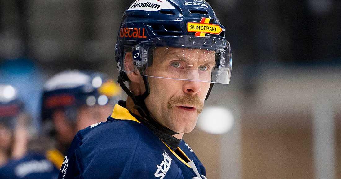 Johan Svedberg var allt annat nöjd efter förlusten.