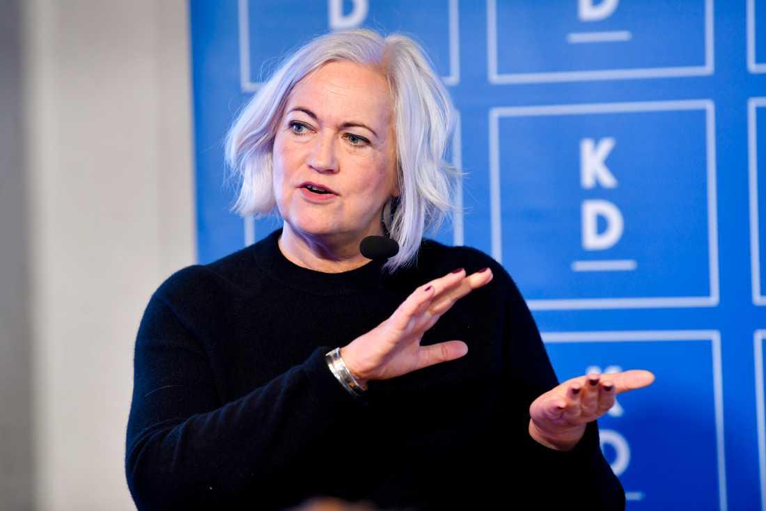 """""""Det krävs skarpare formuleringar om att ekonomisk ersättning måste finnas med som huvudregel"""", säger Acko Ankarberg Johansson (KD). Arkivbild."""