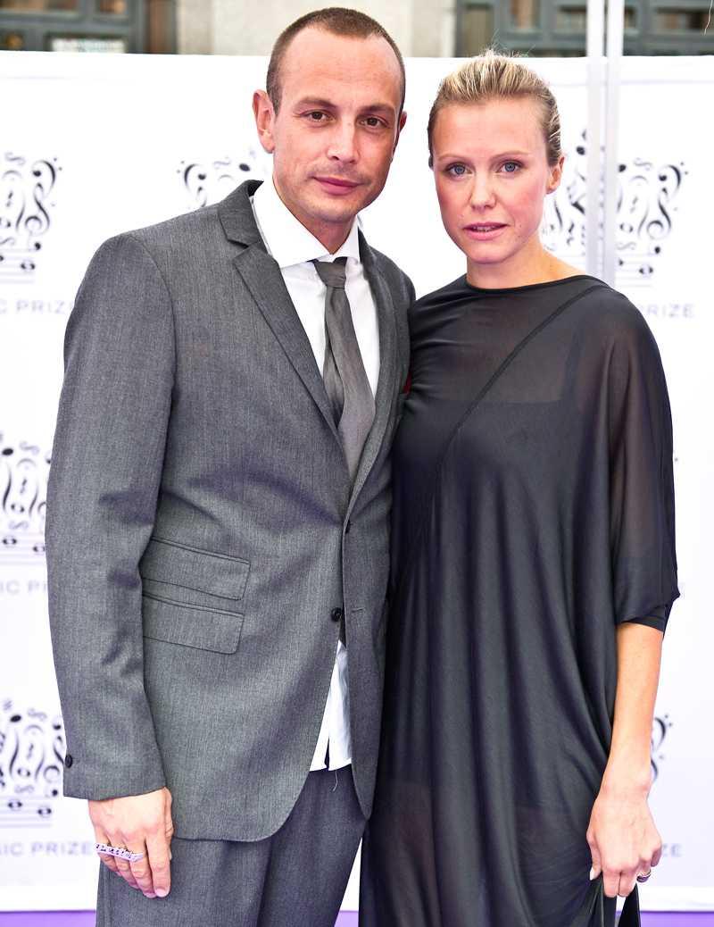 Petter och hustrun Michaela.