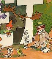 Skogens konung har fått nog Illustration: James Hollingworth