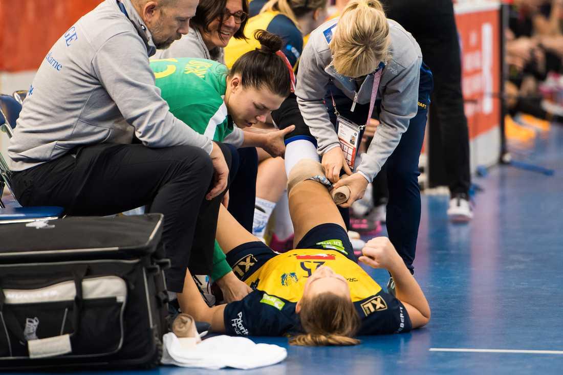 Mikaela Mässing skadades även under VM i december, men nu har korsbandet gått.