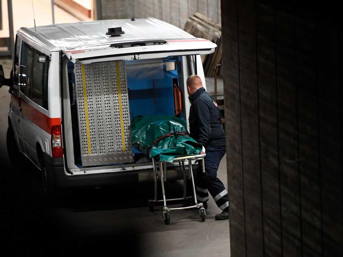 Kroppsdelarna som hittades på fredagen tas omhand av dansk polis.