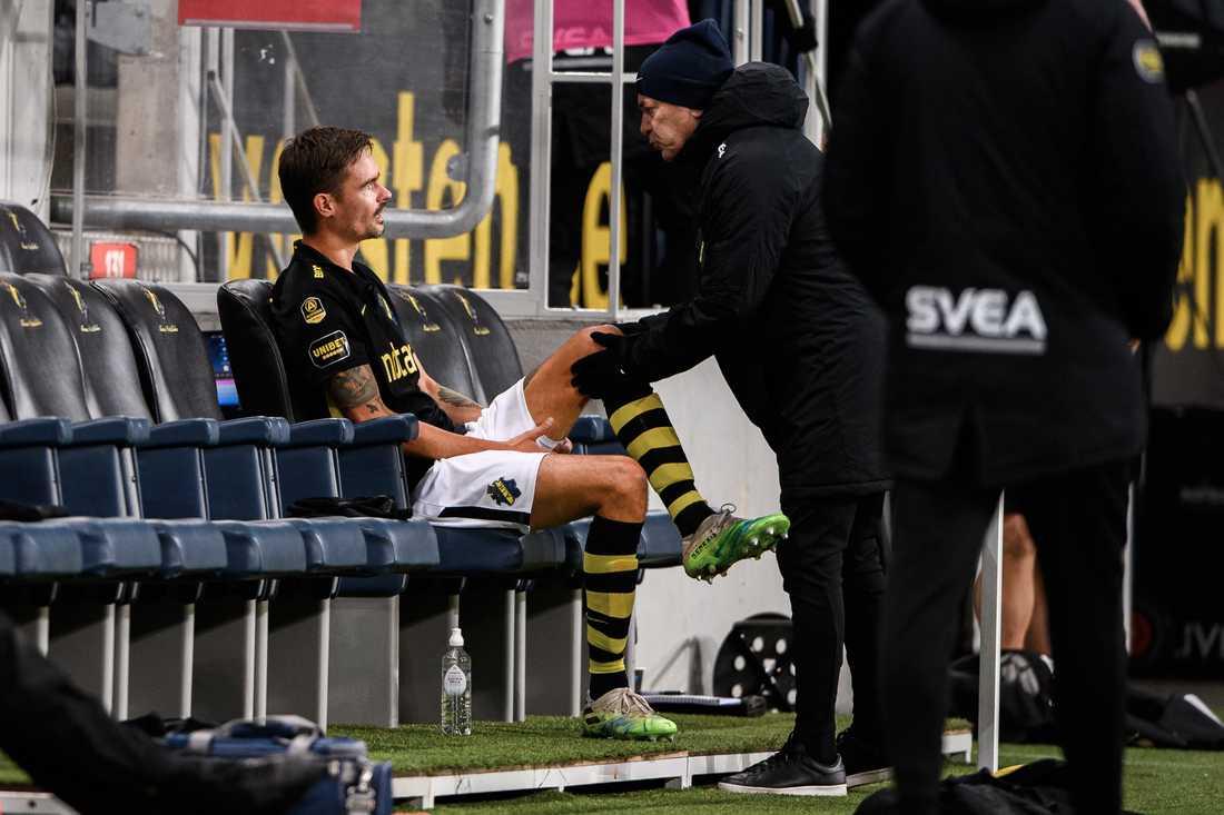 Mikael Lustig utbytt mot IFK Göteborg.