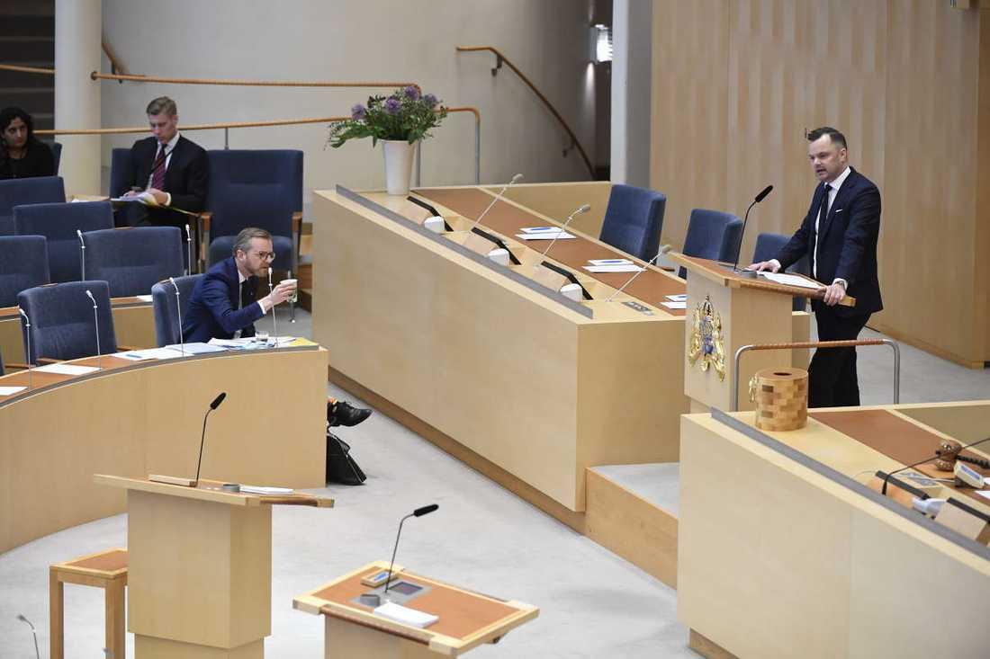 Under tisdagen var det riksdagsdebatt om IS-terrorister.