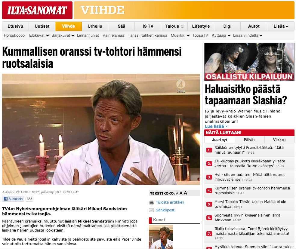 Finska Ilta-Sanomat.