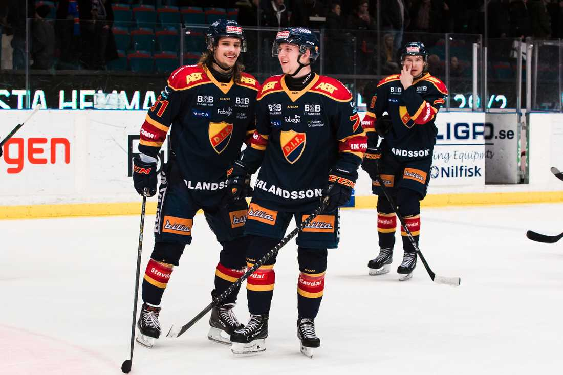 Jonathan Davidsson och Axel Jonsson-Fjällby förra säsongen.