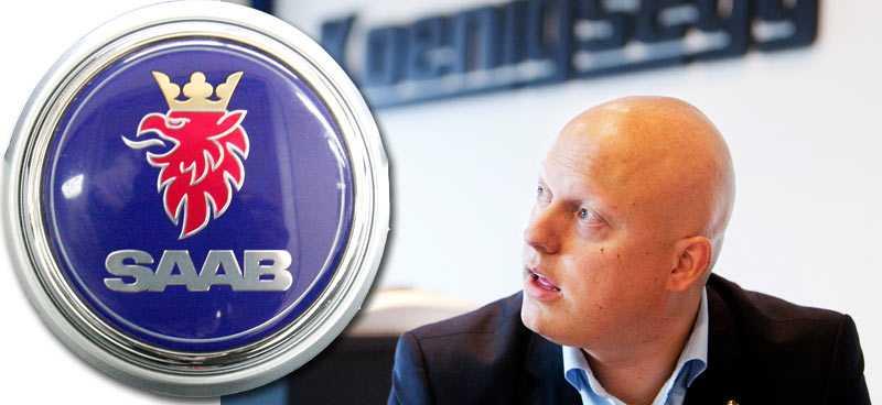 Christian von Koenigsegg och Koenigsegg Group blir nya ägare av Saab Automobile.