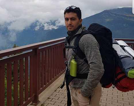Moshe Kucukkaya bestiger Mont Blanc.
