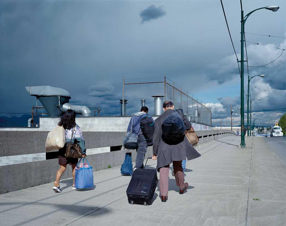 """Jeff Wall, """"Overpass"""", 2001. Courtesy Jeff Wall © Jeff Wall"""