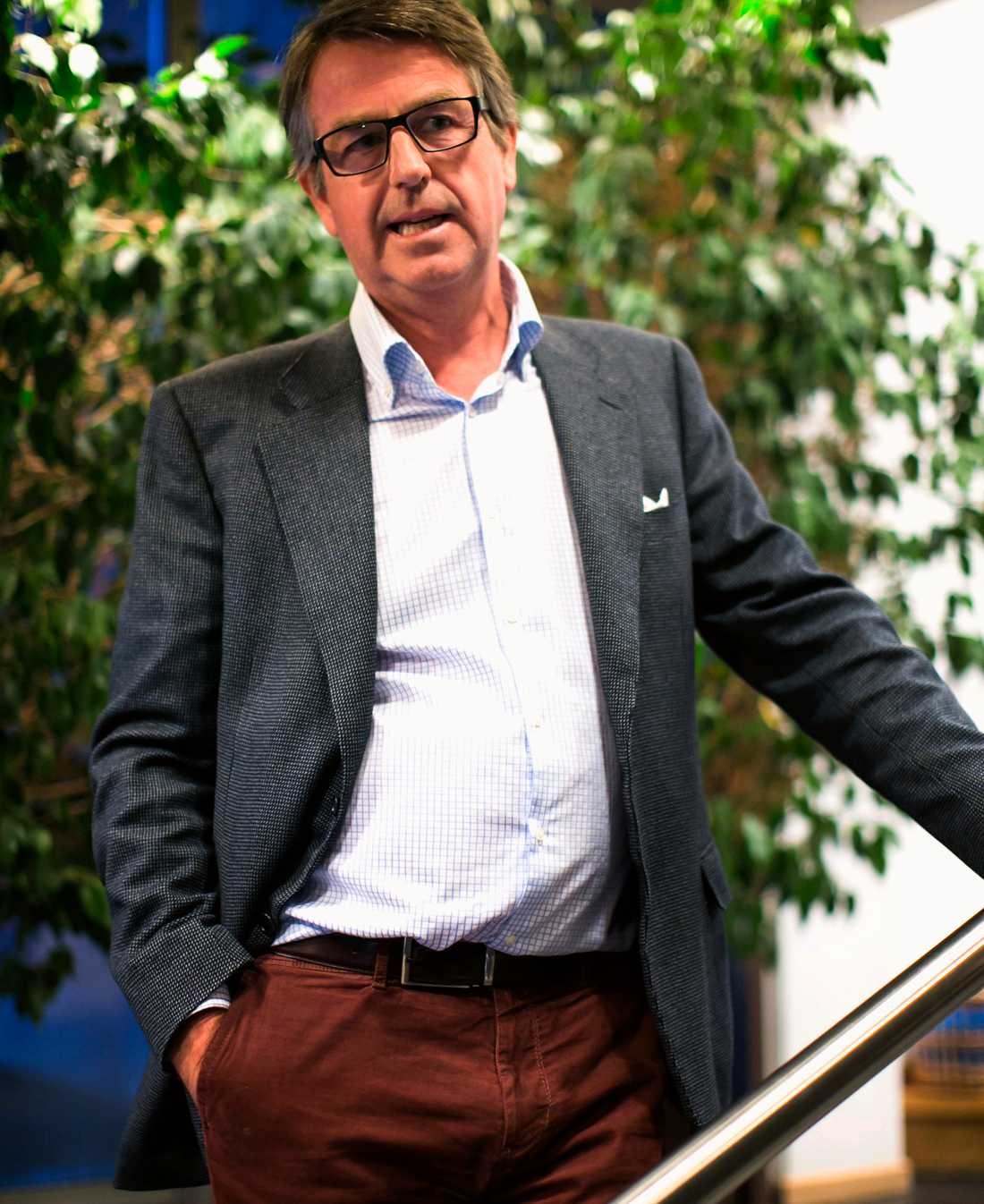 Företaget Dafgårds vd Ulf Dafgård.