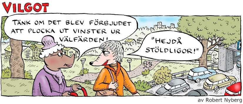 Robert Nybergs Vilgot om vinster i välfärden | Aftonbladet