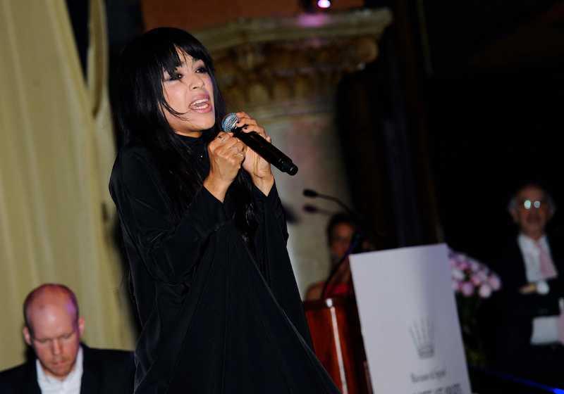 Loreen sjöng tre låtar och ett extranummer för publiken.