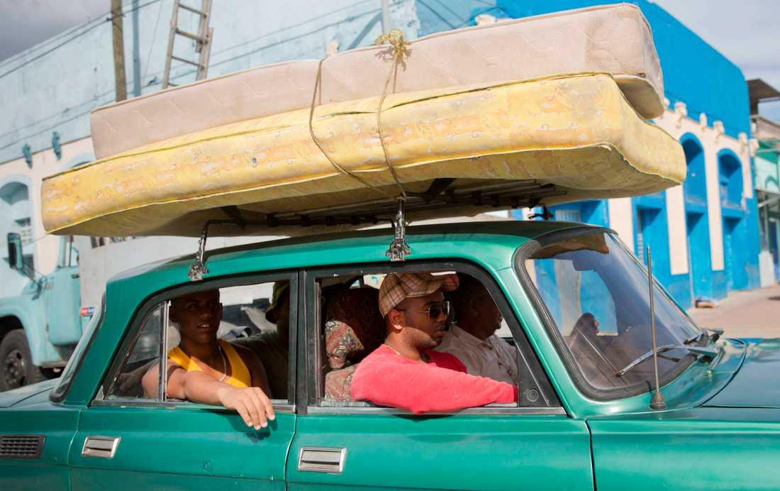 Evakuering från Santiago, Kuba.