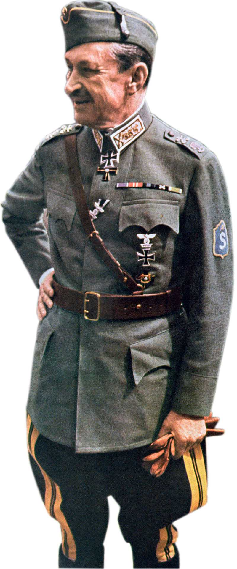 Överbefälhavaren Gustaf Mannerheim blev Finlands president 1944.