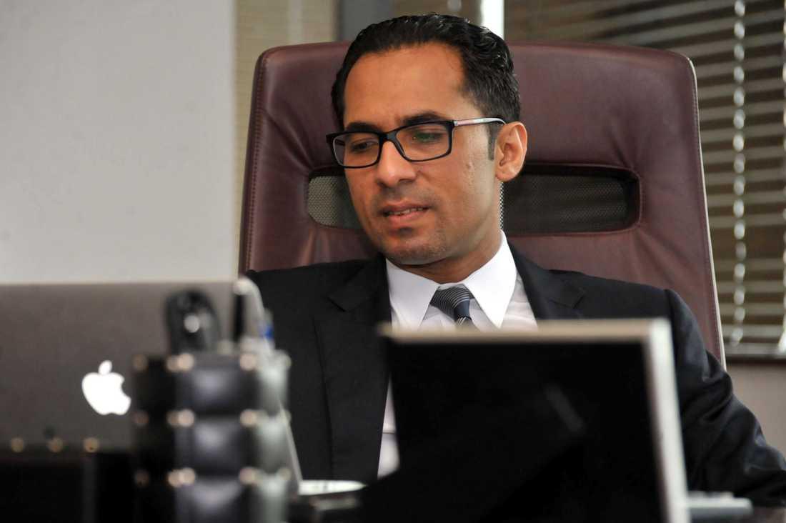 Mohammed Dewji i sitt kontor i Dar es Salaam.