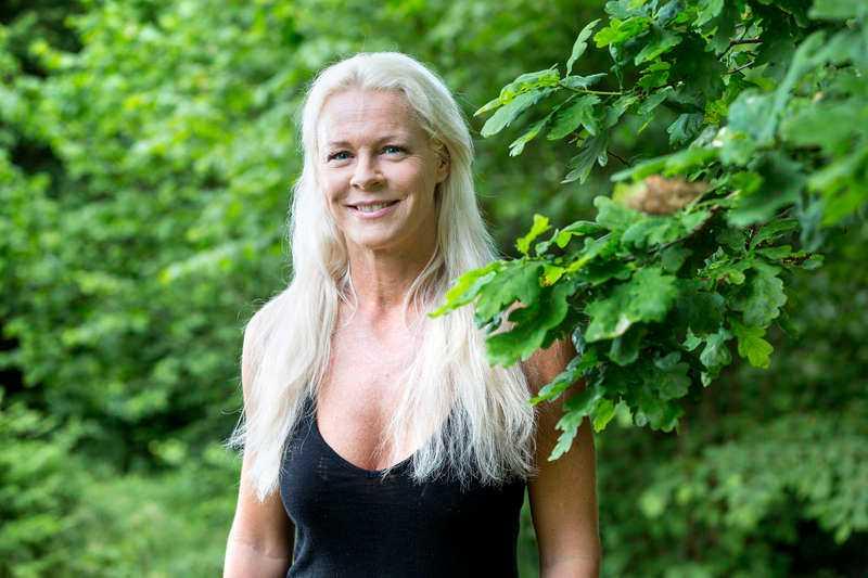Malena Ernman, 44.