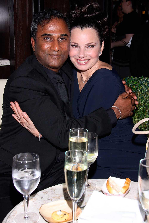 Shiva Ayyadurai och Fran Drescher har gift sig.
