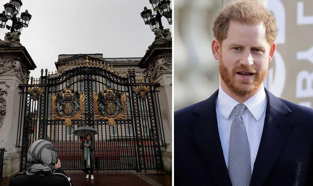 Prins Harry bryter tystnaden om att lämna kungahuset.